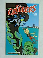 Critters No 22 November 1987 First Printing February 1988 Fantagraphics NM (9.4)