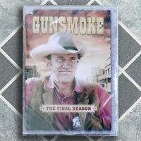 GUNSMOKE TV SERIES THE FINAL SEASON 20 New Sealed DVD James Arness US seller