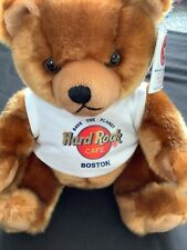 More details for rare limited signature collection hard rock cafe herrington boston bear 2005