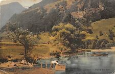 BR36356 Lungern Partie am see      Switzerland