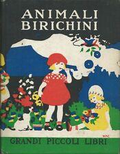 Strang - Animali BIrichini - Salani 1950 - Grandi Piccoli Libri