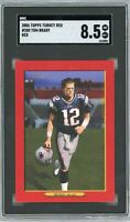 2006 Topps Turkey Red #280 Tom Brady SGC 8.5 NM/MT+