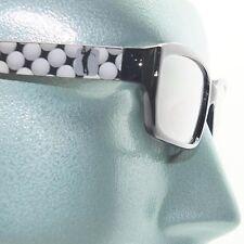 Reading Glasses Golfing Fan Sports Golf Ball Classic Black Frame +1.25 Lens