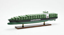 """Evergreen Container Handmade Wooden Ship Model 28"""""""