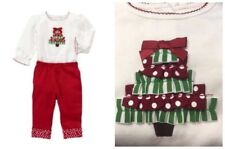 Gymboree Brand New Baby Holiday Ribbon Tree Bodysuit & Pants Outfit 3-6 mo NWT
