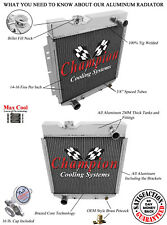 1965 1966 Ford Mustang 5.0 Conversion Champion 2 Row Aluminum Radiator EC251