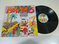 """Max Mix 5 Zweiter Teil Max Musik 1987 Italo Dance - LP Vinyl 12 """" VG/VG"""