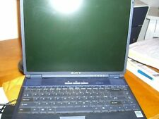 Sony Vaio Model PCG-992L Win XP with Asscessories