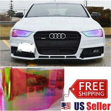 "Chameleon Neo RED Colorful Headlight Taillight Fog Tint Film Wrap Roll 12""x5FT"