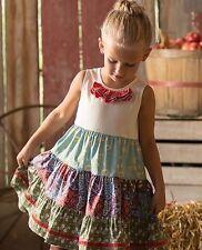 MATILDA JANE Secret Field Country Fields Tiered Dress Size 10 12
