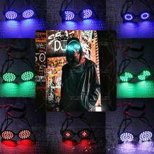 For REZZ DJ LED Light Glasses Colorful Party Nightclub Dancing Music Bar Cosplay