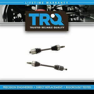 TRQ New Front CV Axle Shaft Assembly LH RH Kit Pair Set for TSX Accord 2.4L