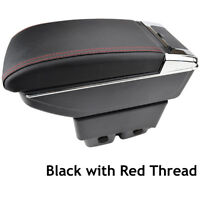 For Ford Fiesta Mk7 2009-2017 Arm Rest Centre Console Storage Box Armrest