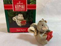 Hallmark Keepsake Ornament Nutty Squirrel 1991 in Original Box