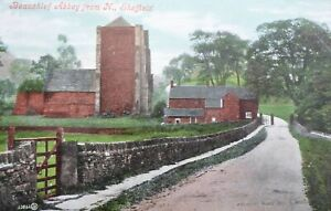SHEFFIELD, Beauchief Abbey from North Vintage Postcard,