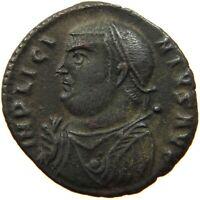 ROME EMPIRE  LICINIUS IOVI CONSERVATORI FOLLIS #t52 375
