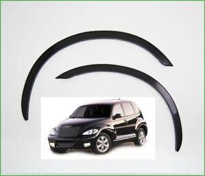 Chrysler PT Cruiser Radlauf Zierleisten Schwarz matt  Satz 4 Stück Bj.2000-2012