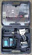 Makita DHP453SMWX combi hammer Drill kit 4.0Ah 18v LXT, accessories bits etc