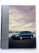 2002 Audi allroad Quattro 34-page Original Car Sales Brochure Catalog