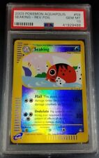 Pokemon PSA 10 Seaking Reverse Holo Aquapolis Set 59/147 Gem Mint