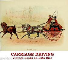 Horse-Drawn Carriage Driving Collection Vintage Books & Catalogues on Data Disc