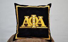 Alpha Phi Alpha Bullion Embroidered Pillows