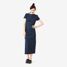Kate Spade Saturday - Slip Neck Maxi Dress in Stripe - Small - BNWT