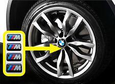 BMW M Tech Alloys sticker badge (Set of 4) for M3 1 3 5 7 X M Z [H213].