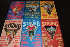 TOM STRONG Serie COMPLETA (6 volumi) DI ALAN MOORE,ed. Magic Press SCONTO+ 50%