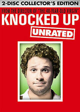 Knocked Up (DVD, 2007) Widescreen Seth Rogen, Katherine Heigl, Paul Rudd