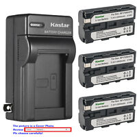 Kastar Battery AC Wall Charger for Sony NP-F550 Sony CCD-SC5 CCD-SC6 CCD-RV100