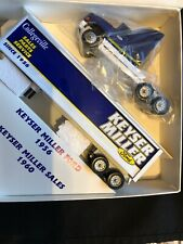 1/64 Scale Metal Winross Ford Truck and Cargo Trailer ~ New in Box ~