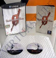 Resident Evil Zero, GameCube, Nintendo, Wii, EURO, UK MARKET, PAL,