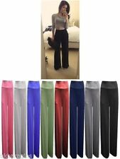 Unbranded Polyester High Regular Size Trousers for Women