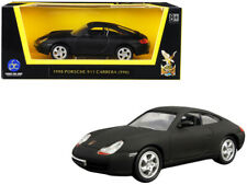 1998 Porsche 911 (996) Carrera Matt Black 1/43 Diecast Model Car by Road Signatu