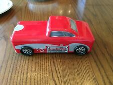Red Car Tin Metal Container 'Drive Me Wild' Trinket Candy Box