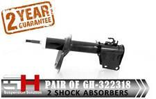 2 Nuovi Ammortizzatori Olio Anteriori per Fiat Palio 178 SIENA 178/GH-322318/
