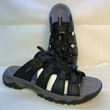 Keen Mens Targhee III Slide Black / Grey Sandals 1022598 Men's Size 8