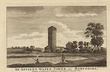 an antient water tower in hampshire (sparrow )
