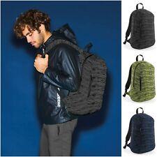 Mens Womens Girls Boys Backpack School College Work Laptop Bag Rucksack Gym Knit