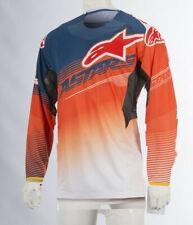Alpinestars MX Men Jersey S8 Techstar Screamer Orange//Blue//White//Yellow X-Large