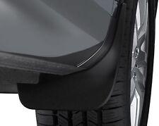 NEW GENUINE VW TOUAREG 7P 2011> FRONT ACCESSORY MUDFLAPS SET