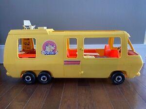 Mattel Barbie doll GMC Eleganza II Star Traveler RV Motorhome ~FRONT SEAT~ Vtg