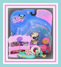 ❤️NEW Littlest Pet Shop LPS #1800 German Shepherd PUPPY Dog WOLF Accessory NIB❤️