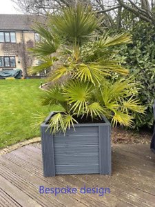 Decking Deluxe Assembled Solid Wood Garden planters