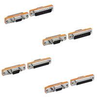 Mini DB9 DB25 Serial AT Modem Adapter Gender Changer Male Female M/M M/F F/F Pin