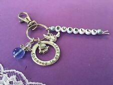 Personalised Pet Memorial Charm - Pet Loss / Memory Box Keepsake