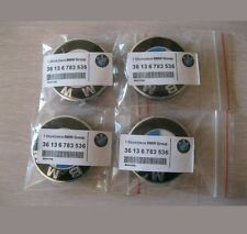 BMW  Wheel Centre Caps for Alloy Wheels  Set of 4x 68mm- 1, 3, 5, 7, 8 series