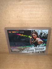 2008 Donruss Americana Ring Kings Gina Carano Auto UFC Movie Star Autograph