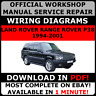 # OFFICIAL WORKSHOP Service Repair MANUAL LAND ROVER RANGE ROVER P38 1994-2001